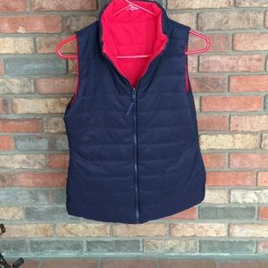 NEW DIRECTIONS REVERSIBLE PUFFER VEST